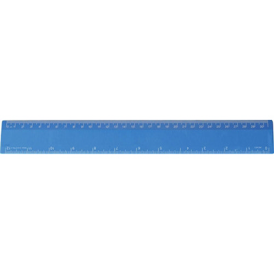 Ruler 30cm Process Blue - (printed with 1 colour(s)) RULE30CM043_PPI