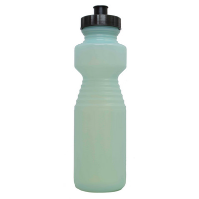 Ergonomic Drink Bottle 750ml Uv Reactive Green To Blue - (printed with 1 colour(s)) BOTTERGOL19_PPI