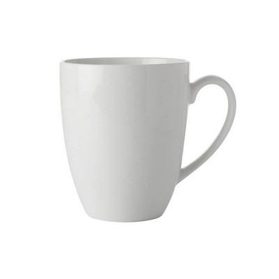 Maxwell & Williams White Basics Coupe Mug 450ml - (printed with 1 colour(s)) FX0140_PPI