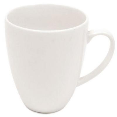 Maxwell & Williams White  Basics Coupe Mug - (printed with 1 colour(s)) P058_PPI