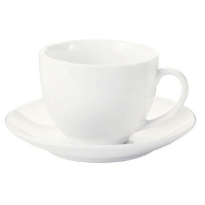 Maxwell & Williams White  Basics Cup & Saucer - (printed with 1 colour(s)) P0050_PPI