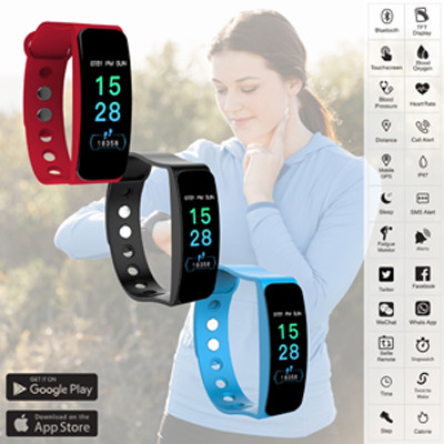 Mira Smart Band - (printed with 1 colour(s)) AR780_PROMOITS