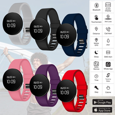 Vela Smart Band - (printed with 1 colour(s)) AR781_PROMOITS