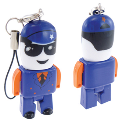 Micro Usb People - Customised 8gb - (printed with 3 colour(s)) USM8012C-8GB_PROMOITS
