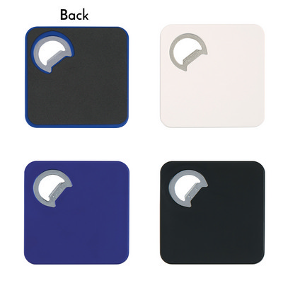 Square Coaster With Bottle Opener - (printed with 1 colour(s)) PH2008_PS