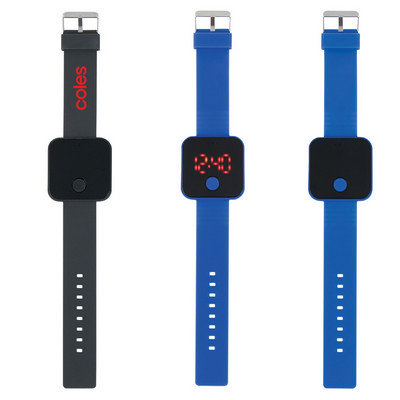 Square LED Watch - (printed with 1 colour(s)) PH2910_PS
