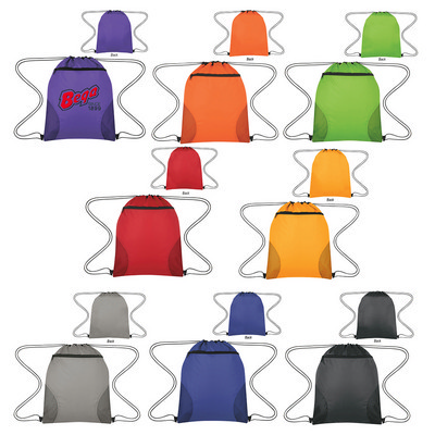 Courtside Drawstring Sports Bag - (printed with 1 colour(s)) PH3180_PS
