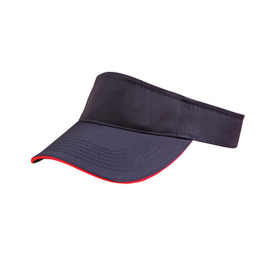 Polo Twill Visor With Or Without Sandwich, Crossover Velcro CH49_win