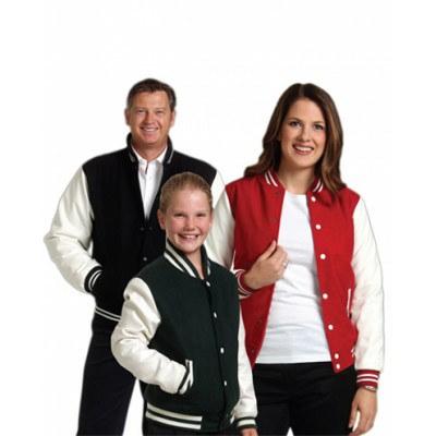 Kids Wool Blend Varsity Jacket 400gsm JK11K_WIN