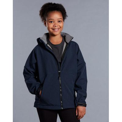 Kids Aspen Softshell Hood Jacket JK33K_WIN