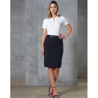 Ladies Twill Stretch Utility Skirt M9479_WIN
