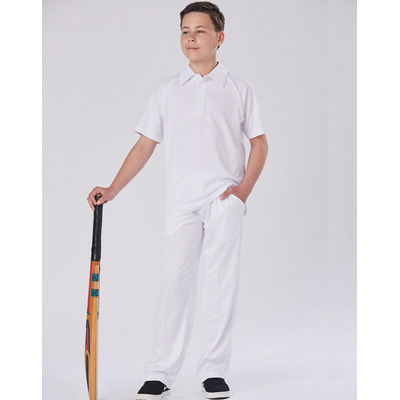 Kids Ssleeve Cricket Polo PS29K_WIN