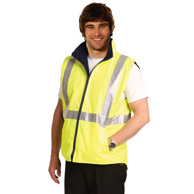 Hi-vis Reversible Safety Vest With 3m Tapes SW19A_WIN