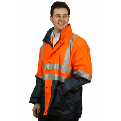 Hi-Vis Three in One Safety Jacket with 3M Tapes  SW20_WIN