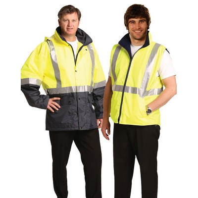 Hi-vis Three In One Safety Jacket SW20_WIN