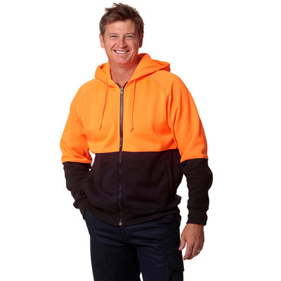 High Visibility TwoTone Fleecy Hoodie SW24_WIN