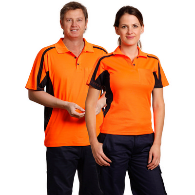 Hi-vis Fashion Polo Unisex SW25_WIN