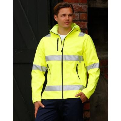 Hi-vis Safety Jacket-unisex SW30_WIN