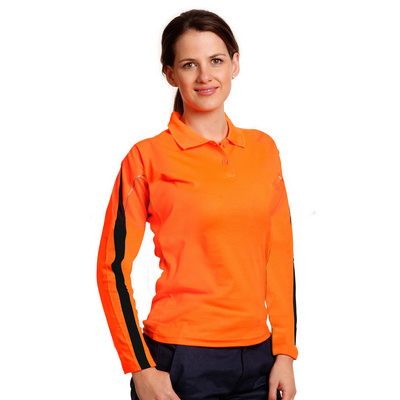 Hi-vis Legend Long Sleeve Polo Ladies SW34A_WIN