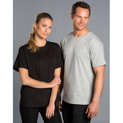 (Unisex) 100% Cotton Crew Neck Short Sleeve Tee TS20_WIN