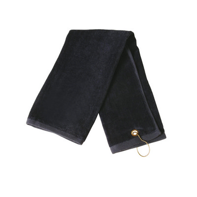 Golf Towel With Ring & Hook TW01A_WIN