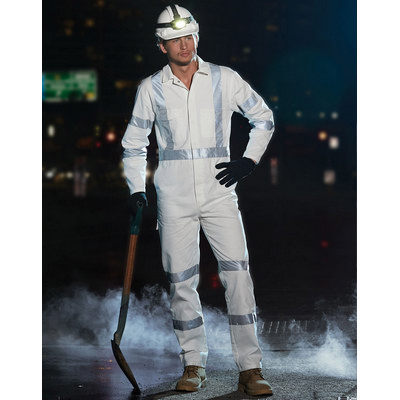 Mens Biomotion Nightwear Coverall With X Back Tape Configuration WA09HV_WIN