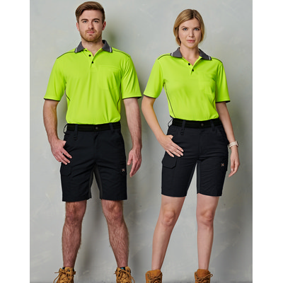 Unisex Ripstop Stretch Work Shorts WP25_WIN