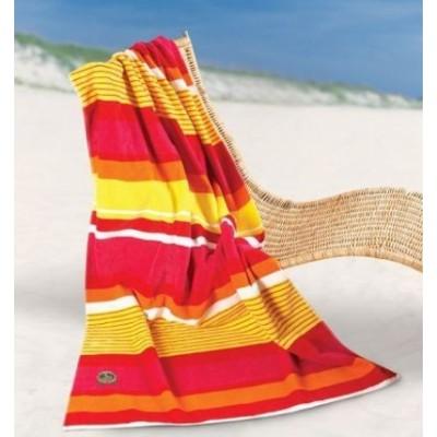 Bright Stripes Beach  Towel BS128_SIM