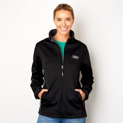 Ladies Bonded Softshell Jacket 3141_STENCIL