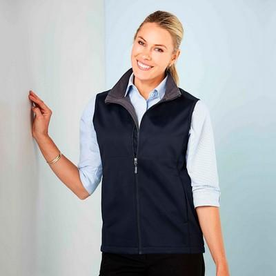 Ladies Bonded Soft-Shell Vest 3147_STENCIL