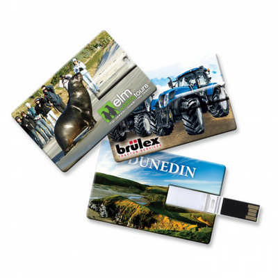 Credit Card Flash Drive 8gb - (printed with 4 colour(s)) 108476_TRDZ