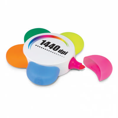 Flower Highlighter - (printed with 1 colour(s)) 108516_TRDZ
