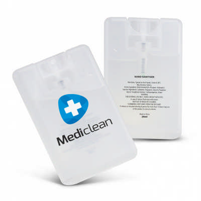 Hand Sanitiser Card - (printed with 1 colour(s)) 108813_TRDZ