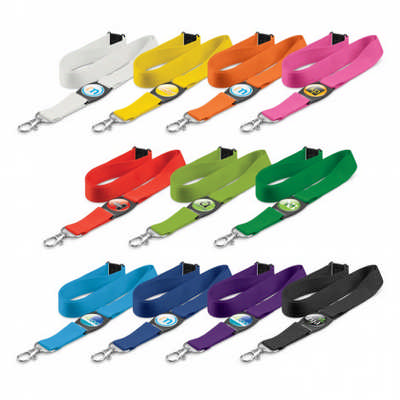 Crest Lanyard - (printed with 1 colour(s)) 110502_TRDZ