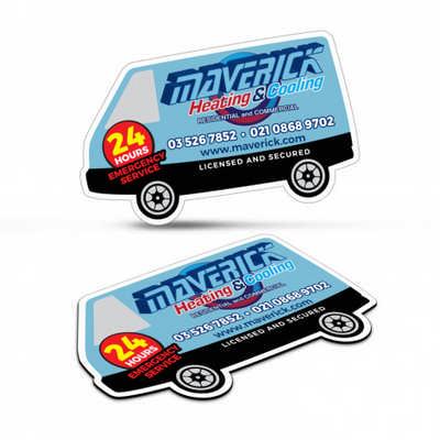 Fridge Magnet 90 X 55mm - Van Shape - (printed with 4 colour(s)) 112308_TRDZ