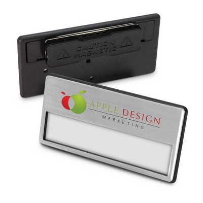 Magnetic Name Badge - (printed with 1 colour(s)) 112549_TRDZ