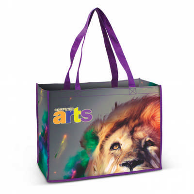 Aventino Cotton Tote Bag - (printed with 4 colour(s)) 112915_TRDZ