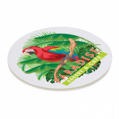 Cardboard Drink Coaster - Round - (printed with 4 colour(s)) 113193_TRDZ