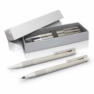 Lamy Logo Pen And Pencil Set - (printed with 1 colour(s)) 113797_TRDZ