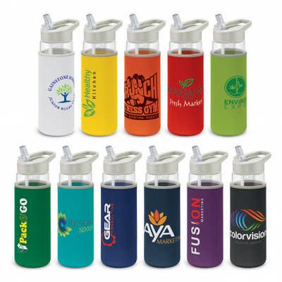 Elixir Glass Bottle - Neoprene Sleeve - (printed with 1 colour(s)) 115047_TRDZ