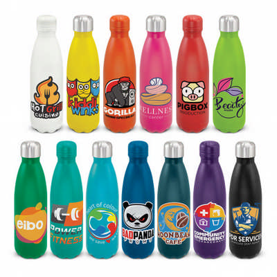 Mirage Powder Coated Vacuum Bottle - (printed with 1 colour(s)) 116329_TRDZ