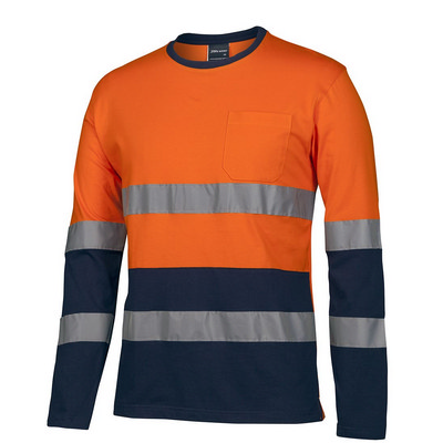 JBs Hv (D+N) LS Crew Neck Cotton T-Shirt  6DNTN_JBS