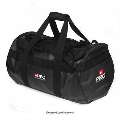 Odyssey Tarpaulin Duffle/Backpack -Black 5701B_TVG